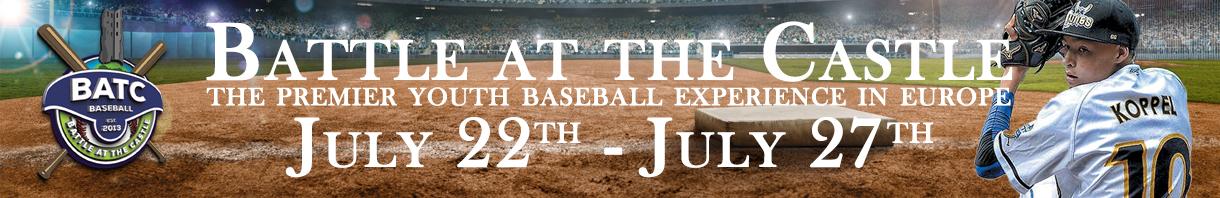 The premier U12, U15 and U18 baseball experience in Europe!