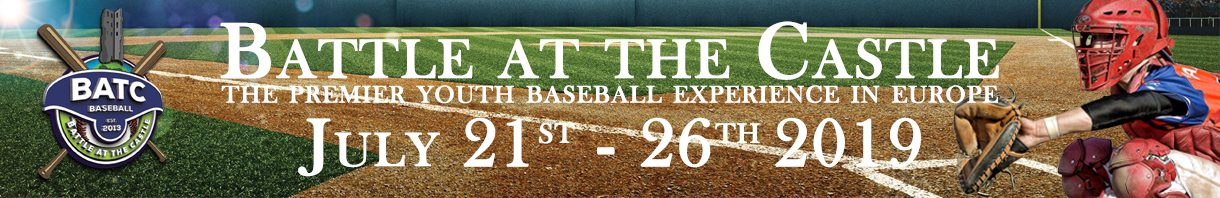 The premier U12, U15 and U18 baseball experience in Europe!